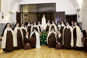Visita da Imagem da Virgem Peregrina aos mosteiros de clausura de Portugal: Irmãs Carmelitas Descalças de Coimbra